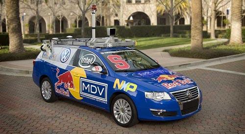 Driverless VW Passat