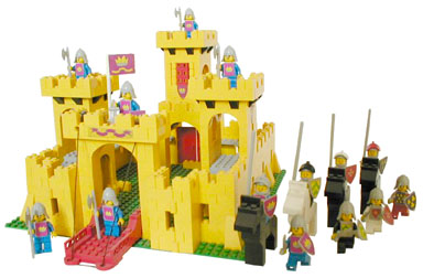 Yellow LEGO castle - 1978