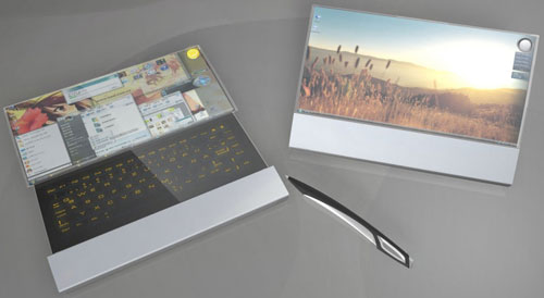 The Compenion concept notebook, designed by Felix Schmidberger