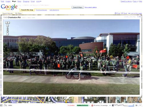Google Street Views Credits
